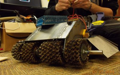 Mechanical Power Helps Engineering Student Source Parts for Battlebot for Student Robotics Competition