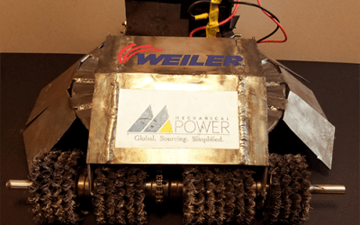 Engineering Student Shows Off Battlebot Built with Parts Sourced by Mechanical Power