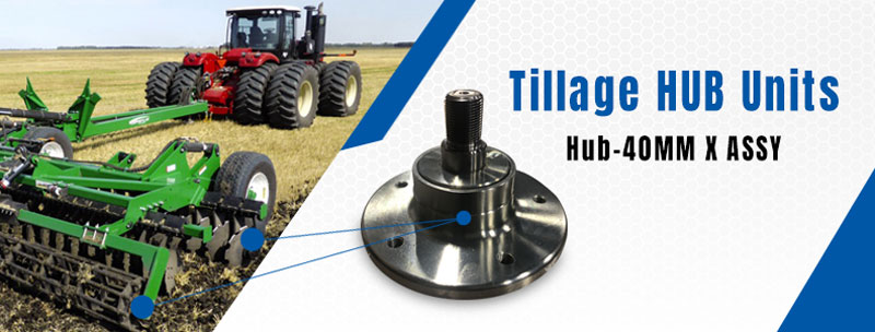 Tillage Hub Units – Hub 40mm X Assy