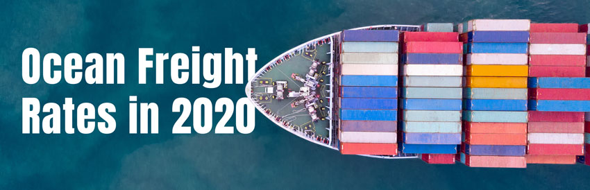 Ocean Freight Rates in 2020