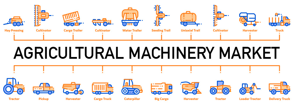 oem parts for agricultural machinery/