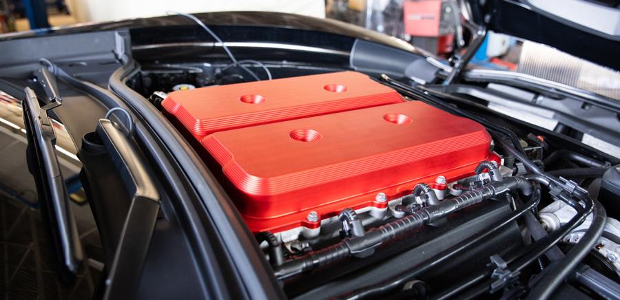 Billet LT4 Supercharger Lid