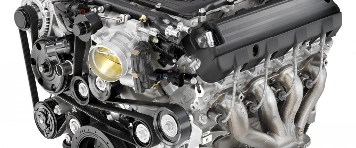 Supercharged Small Block V8 LT4 Engine